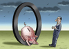 Cartoon: DRAGHIS NULL ZINS POLITIK (small) by marian kamensky tagged draghi,null,zins,politik,ezb,pleite,staaten
