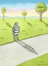 Cartoon: Escapee (small) by marian kamensky tagged humor