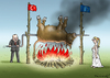 Cartoon: EU TÜRKEI DEAL (small) by marian kamensky tagged eu,türkei,deal
