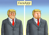 Cartoon: FaceApp (small) by marian kamensky tagged brexit,theresa,may,england,eu,schottland,weicher,wahlen,boris,johnson,nigel,farage,ostern,seidenstrasse,xi,jinping,referendum,trump,monsanto,bayer,glyphosa,strafzölle