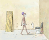 Cartoon: Fakir WC (small) by marian kamensky tagged humor