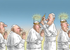 Cartoon: Heilige Bimbams (small) by marian kamensky tagged johannes,paul,der,zweite,saulus,paulus,bibel,heiligsprechung