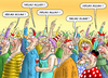 Cartoon: HELAU ALAAF (small) by marian kamensky tagged jecken,karneval,köln,charlie,hebdo
