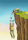 Cartoon: Help (small) by marian kamensky tagged help