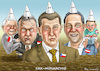 Cartoon: KKK-MONARCHIE (small) by marian kamensky tagged kkk,monarchie,babis,strache,kurz,orban,populismus,kazsynski