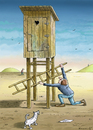 Cartoon: Loo (small) by marian kamensky tagged humor
