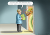 Cartoon: MERKEL IN CHINA (small) by marian kamensky tagged brexit,theresa,may,england,eu,schottland,weicher,wahlen,boris,johnson,nigel,farage,ostern,seidenstrasse,xi,jinping,referendum,trump,monsanto,bayer,glyphosa,strafzölle,china,merkel,hongkong