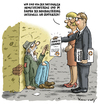 Cartoon: Nationale Armutskonferenz (small) by marian kamensky tagged nationale,armutskonferenz,deutschland,hartz,iv