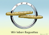 Cartoon: Opel an Peugeot (small) by marian kamensky tagged opel,an,peugeot,general,motors