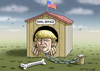 Cartoon: OVAL OFFICE (small) by marian kamensky tagged mail,affair,clinton,trump,presidentenwahlen,usa