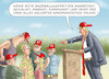 Cartoon: PARTEITAG DES GELIEBTEN FÜHRERS (small) by marian kamensky tagged us,wahlen,joe,biden,trump,corona,goodyear