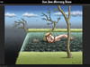 Cartoon: San Jose Mercury News (small) by marian kamensky tagged san,jose,mercury,news