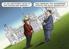 Cartoon: Schiefer Gas (small) by marian kamensky tagged schiefe,wirtschaftslage,angela,merkel,sigmar,gabriel,schiefergas