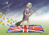 Cartoon: THERESA MAY (small) by marian kamensky tagged cameron,brexit,eu,joe,cox,ukip,nationalismus,theresa,may