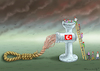Cartoon: TODESSTRAFEREFERENDUM (small) by marian kamensky tagged cumhuriyet,erdogan,cavusoglu,referendum,pressefreiheit,todesstrafereferendum,türkei,denit,yücel