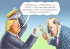 Cartoon: TRUMP DROHT ERDOGAN (small) by marian kamensky tagged afrin,kurden,erdogan,syrien,aramenien,genozid,präsidentenwahlen,türkeiwahlen,kurdistan,trump,is