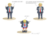 Cartoon: UNSCHULDSLAMM TRUMP (small) by marian kamensky tagged obama,trump,präsidentenwahlen,usa,baba,vanga,republikaner,inauguration,demokraten,wikileaks,faschismus
