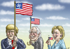 Cartoon: USA QUALENWAHLEN (small) by marian kamensky tagged wahlen,in,amerika