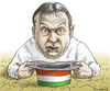Cartoon: Viktor Orban (small) by marian kamensky tagged viktor,orban,ungarn,schulden,magyaren,fidezs