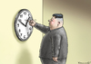 Cartoon: ZEITVERDREHER KIM JONG UN (small) by marian kamensky tagged zeitverdreher,kim,jong,un