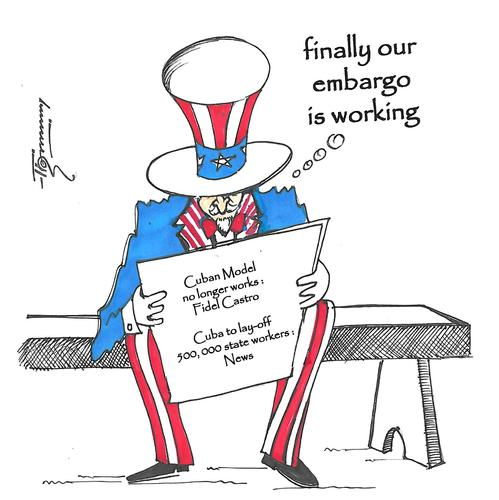 cuba embargo Cuba considers the embargo itself a violation of human rights on 17 december 2014, united states president barack obama announced the re.