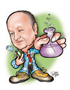 Cartoon: karykatura_22_14 (small) by Krzyskow tagged karykatura