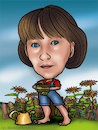 Cartoon: karykatura_2_20 (small) by Krzyskow tagged karykatura,caricature