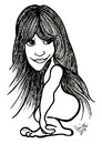 Cartoon: karykatura_48_14 (small) by Krzyskow tagged zooey,deschanel