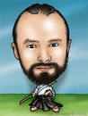 Cartoon: karykatura_6_10 (small) by Krzyskow tagged karykatura