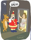 Cartoon: Weihnachten (small) by Fredrich tagged weihnachten,christmas,weihnachtsmann,santa,claus,wish