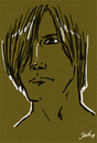 Cartoon: sketch practice 04 (small) by sahin tagged sketch,practice,04,four,guy,man,long,hair