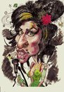 Cartoon: Amy Winehouse (small) by RoyCaricaturas tagged winehouse,amy,singers,famous,soul,music,legends