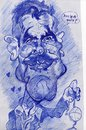 Cartoon: George Clooney scribble (small) by RoyCaricaturas tagged george,clooney,famous,hollywood,actors,films