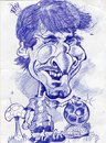 Cartoon: Leonel Messi Golden Ball (small) by RoyCaricaturas tagged leonel messi argentina soccer players barca