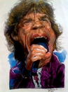 Cartoon: Mick Jagger (small) by RoyCaricaturas tagged mick,jagger,music,rolling,stone,famous,rock,roll