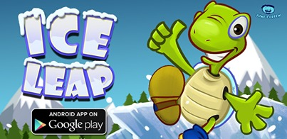 Cartoon: ice leap game (medium) by juwecurfew tagged turtle,flappy,bird,android