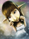 Cartoon: alodia gongsienfiao caricature (small) by juwecurfew tagged pinay,cosplay,alodia,caricature