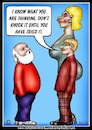 Cartoon: dont knock it (small) by Mike J Baird tagged life,surprise,ladyboy,shock