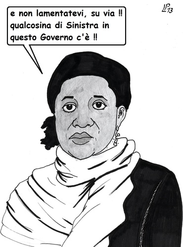 Cartoon: Sinistra (medium) by paolo lombardi tagged italy,bersani,berlusconi,grillo,governo
