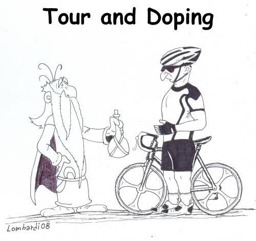 tour de france and doping 3 By paolo lombardi