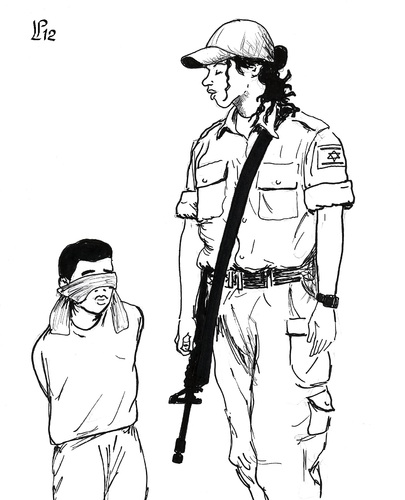 Cartoon: Woman with child (medium) by paolo lombardi tagged peace,war