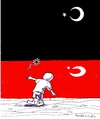 Cartoon: Handala Tribute (small) by paolo lombardi tagged turkey,palestine,israel,war,gaza,peace