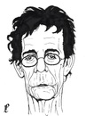 Cartoon: Lou Reed (small) by paolo lombardi tagged reed