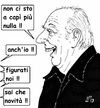 Cartoon: Mistero Buffo (small) by paolo lombardi tagged italy,politics,satire,cartoon,election,berlusconi,grillo
