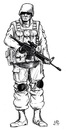 Cartoon: Navy Seals (small) by paolo lombardi tagged usa,afghanistan,war,binladen