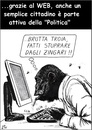Cartoon: Politica dal basso (small) by paolo lombardi tagged italy,politics