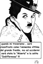 Cartoon: un gelo indifferente (small) by paolo lombardi tagged cold,winter,homeless