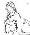 Cartoon: Who ? (small) by paolo lombardi tagged palestine,peafe,war