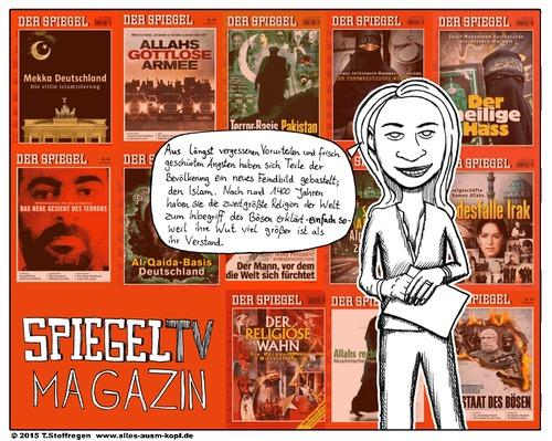 Spiegel tv magazin by allesausmkopf politics cartoon for Spiegel tv magazin verpasst