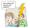 Cartoon: Zehn Gebote 2.0 (small) by Mergel tagged glaube,gebote,religion,modern,digital,moses,malware,schadsoftware